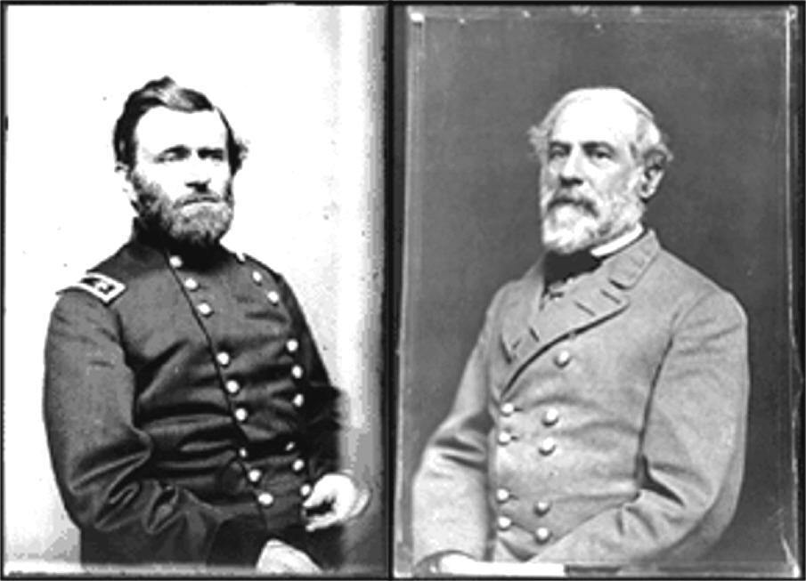 an analysis of the introduction of a comparison of ulysses s grant and robert e lee Essays from bookrags provide great ideas for robert e lee of analysis of a biography of gen robert e lee lee surrendered to ulysses s grant at.